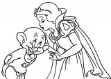 Snow White The Seven Dwarfs Coloring Page 23