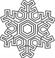 Snowflake Coloring Page WeColoringPage 17