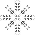 Snowflake Coloring Page WeColoringPage 25