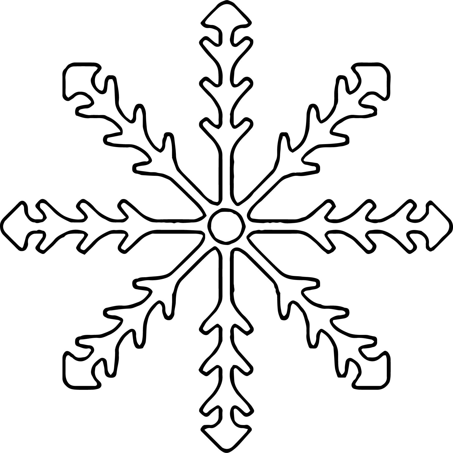 Snowflake Coloring Page WeColoringPage 25 | Wecoloringpage.com