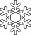 Snowflake Coloring Page WeColoringPage 29