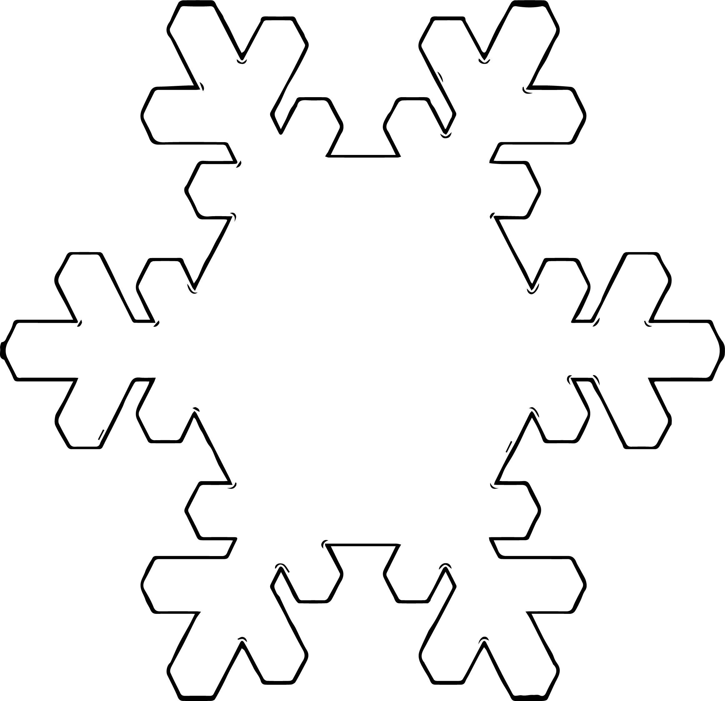 Snowflake Coloring Page WeColoringPage 33 | Wecoloringpage.com