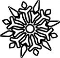 Snowflake Coloring Page WeColoringPage 38