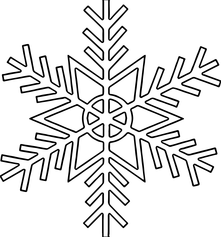 Snowflake Coloring Page WeColoringPage 50