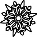 Snowflake Coloring Page WeColoringPage 51