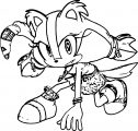 Sonic The Hedgehog Coloring Page WeColoringPage 008