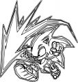 Sonic The Hedgehog Coloring Page WeColoringPage 022