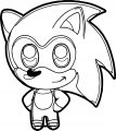Sonic The Hedgehog Coloring Page WeColoringPage 027