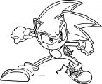 Sonic The Hedgehog Coloring Page WeColoringPage 200
