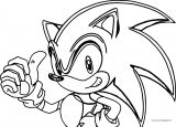 Sonic The Hedgehog Coloring Page WeColoringPage 206