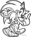 Sonic The Hedgehog Coloring Page WeColoringPage 214