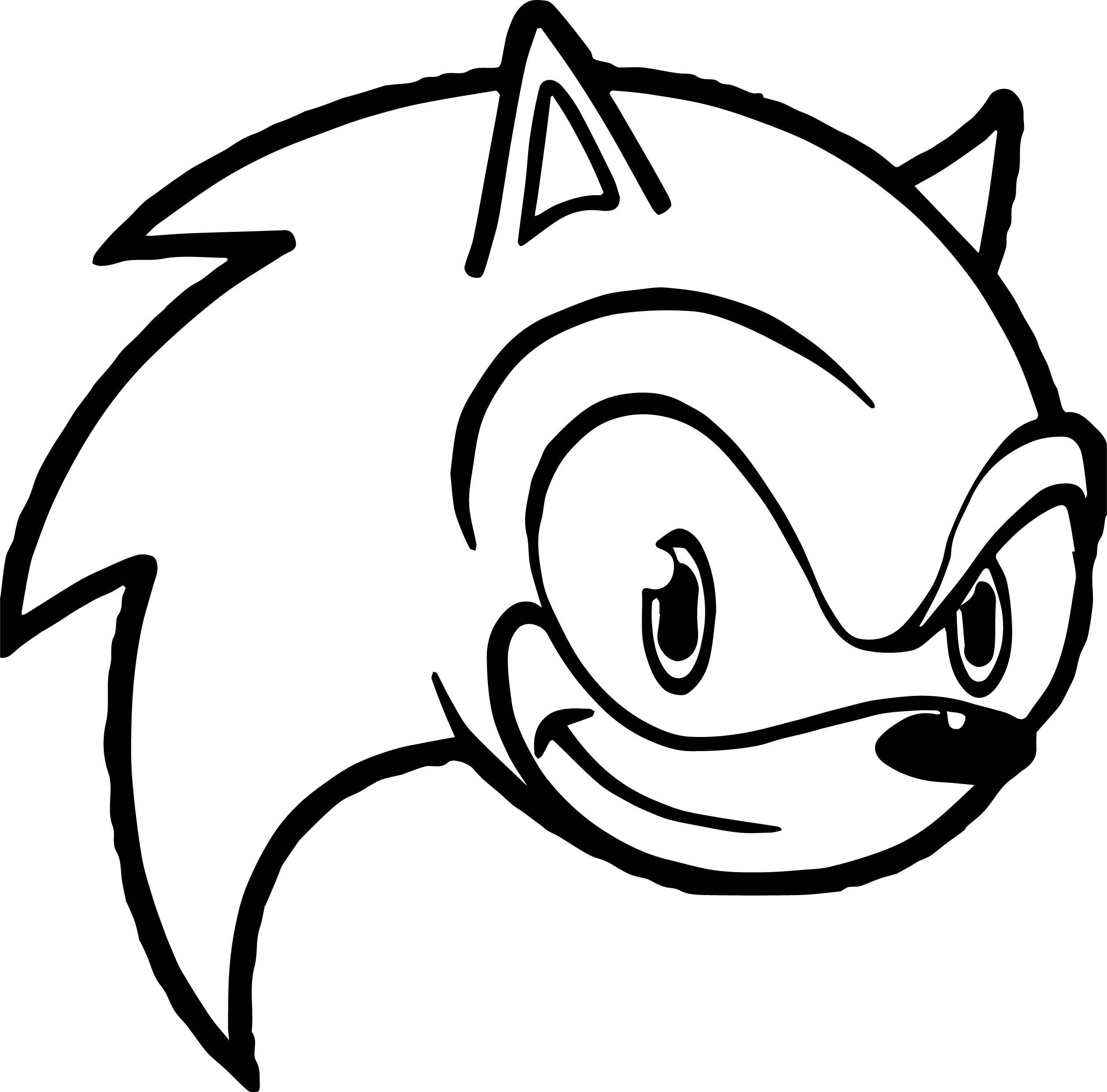Sonic The Hedgehog Coloring Page WeColoringPage 240