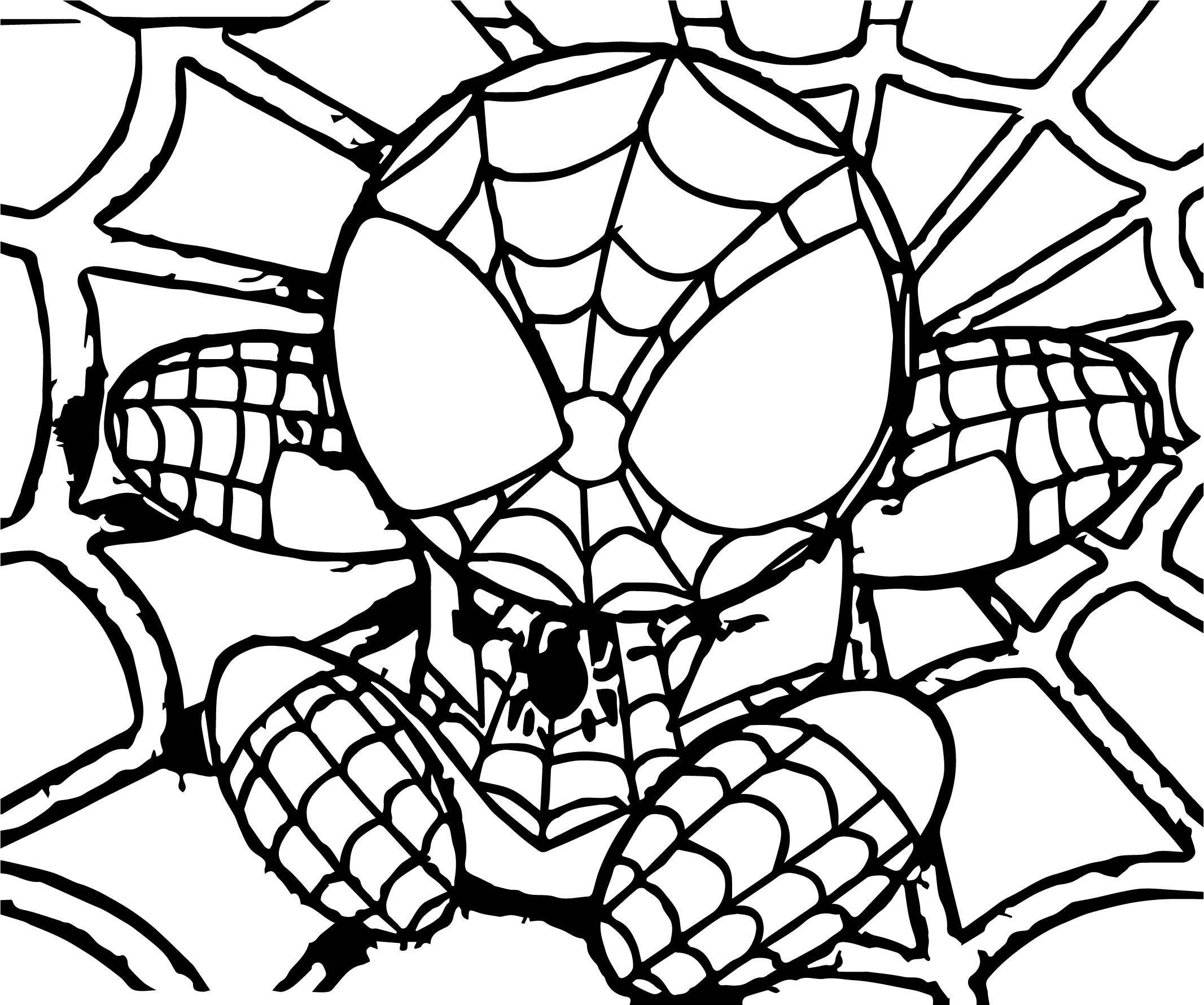 Spider Man Coloring Page WeColoringPage 089