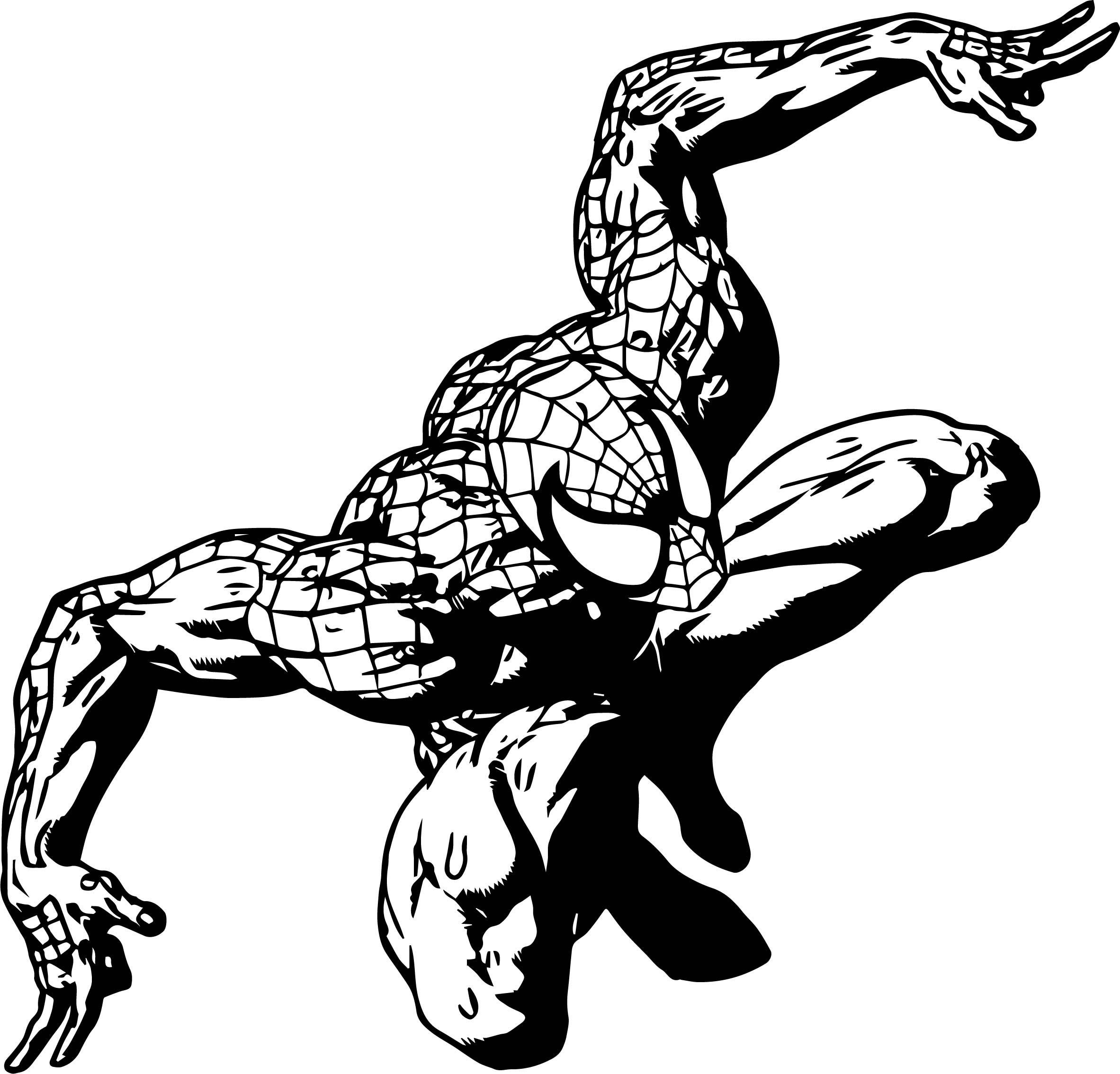 Spider Man Coloring Page WeColoringPage 171