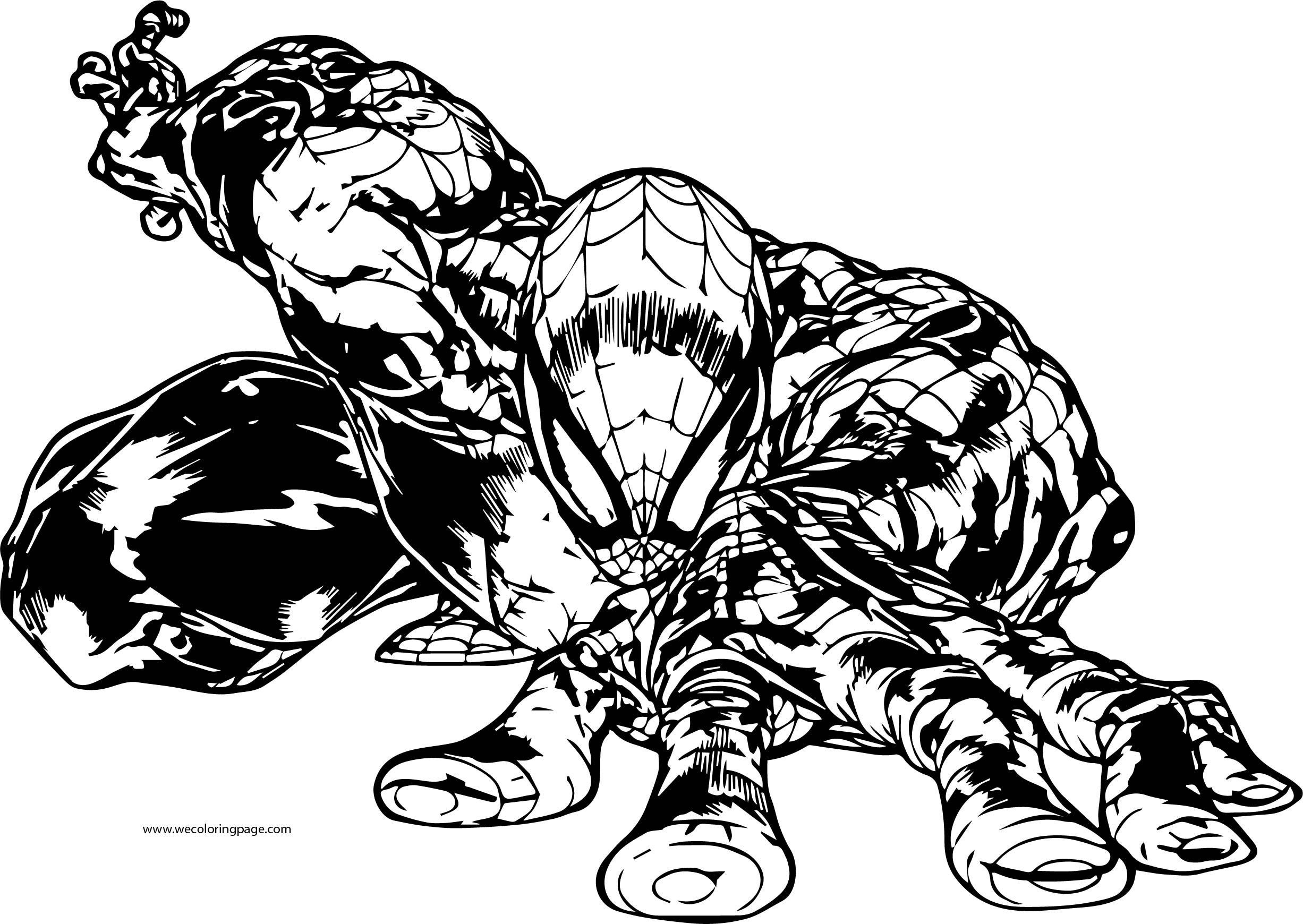 Spider Man Coloring Page WeColoringPage 183