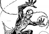Spider Man Coloring Page WeColoringPage 190