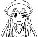 Squid Girl Coloring Page 078