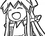 Squid Girl Coloring Page 086
