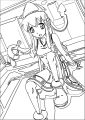 Squid Girl Coloring Page 101