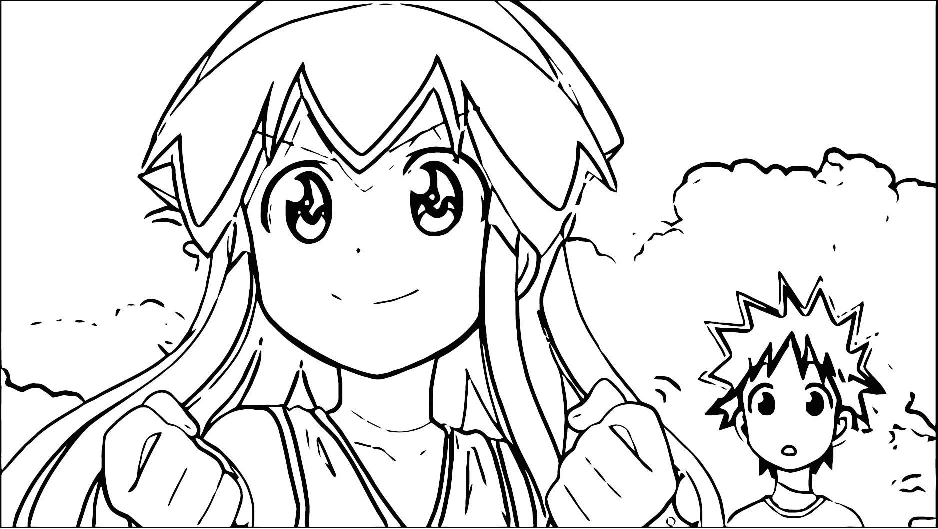 squid girl coloring page 103 wecoloringpage com