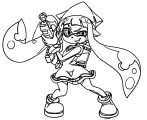 Squid Girl Coloring Page 118