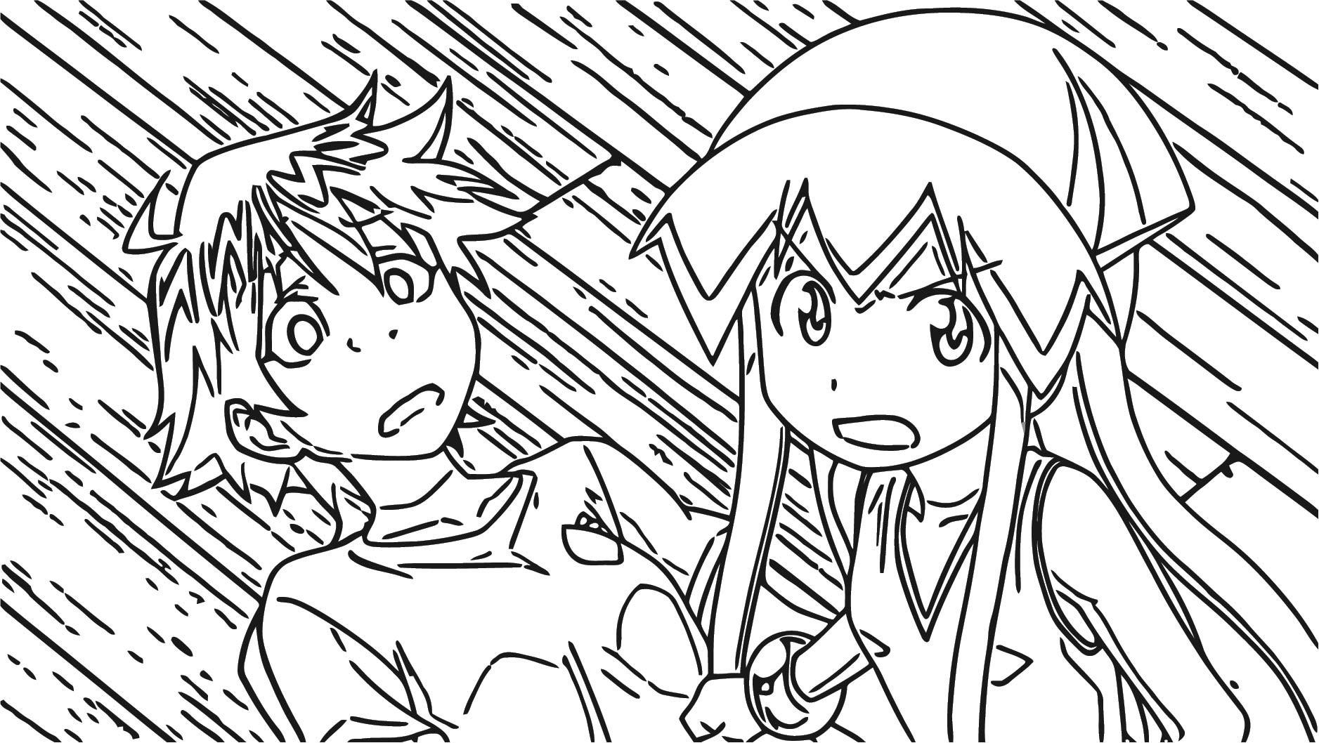 Squid Girl Coloring Page 136