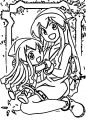 Squid Girl Coloring Page 144