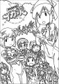 Squid Girl Coloring Page 167