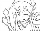 Squid Girl Coloring Page 184