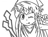 Squid Girl Coloring Page 185