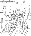 Squid Girl Coloring Page 190
