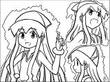 Squid Girl Coloring Page 203