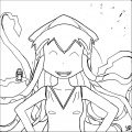 Squid Girl Coloring Page 206