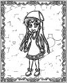 Squid Girl Coloring Page 212