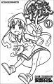 Squid Girl Coloring Page 218
