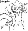 Squid Girl Coloring Page 239