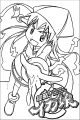 Squid Girl Coloring Page 241