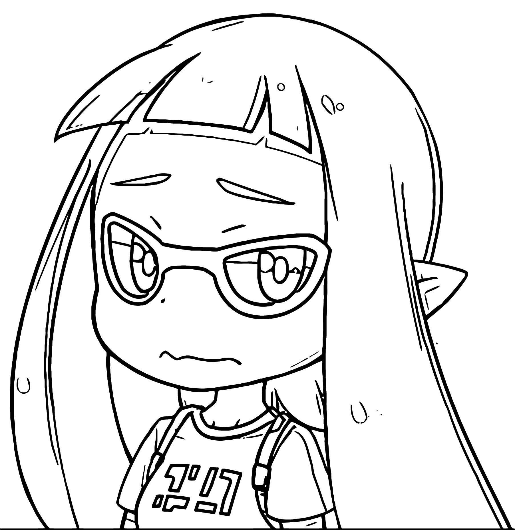 Squid Girl Coloring Page 248