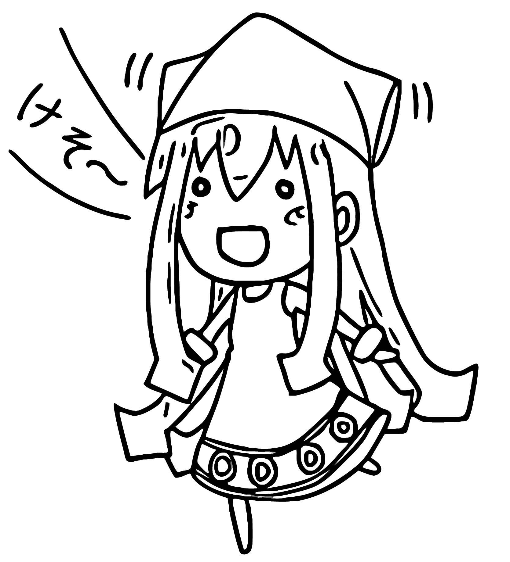 Squid Girl Coloring Page 251