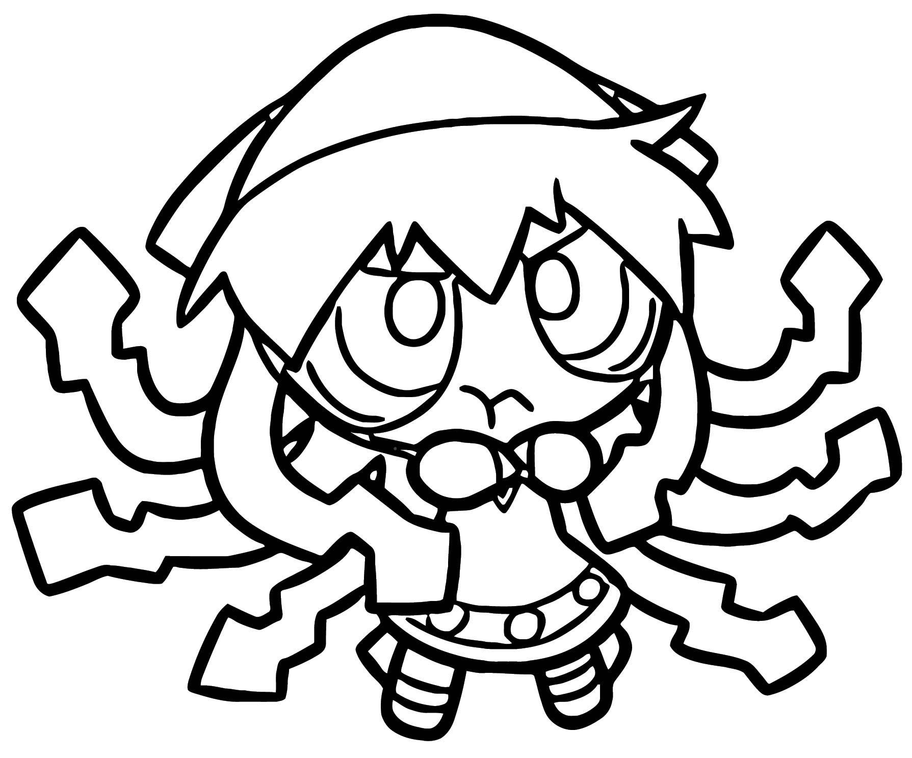 Squid Girl Coloring Page 281