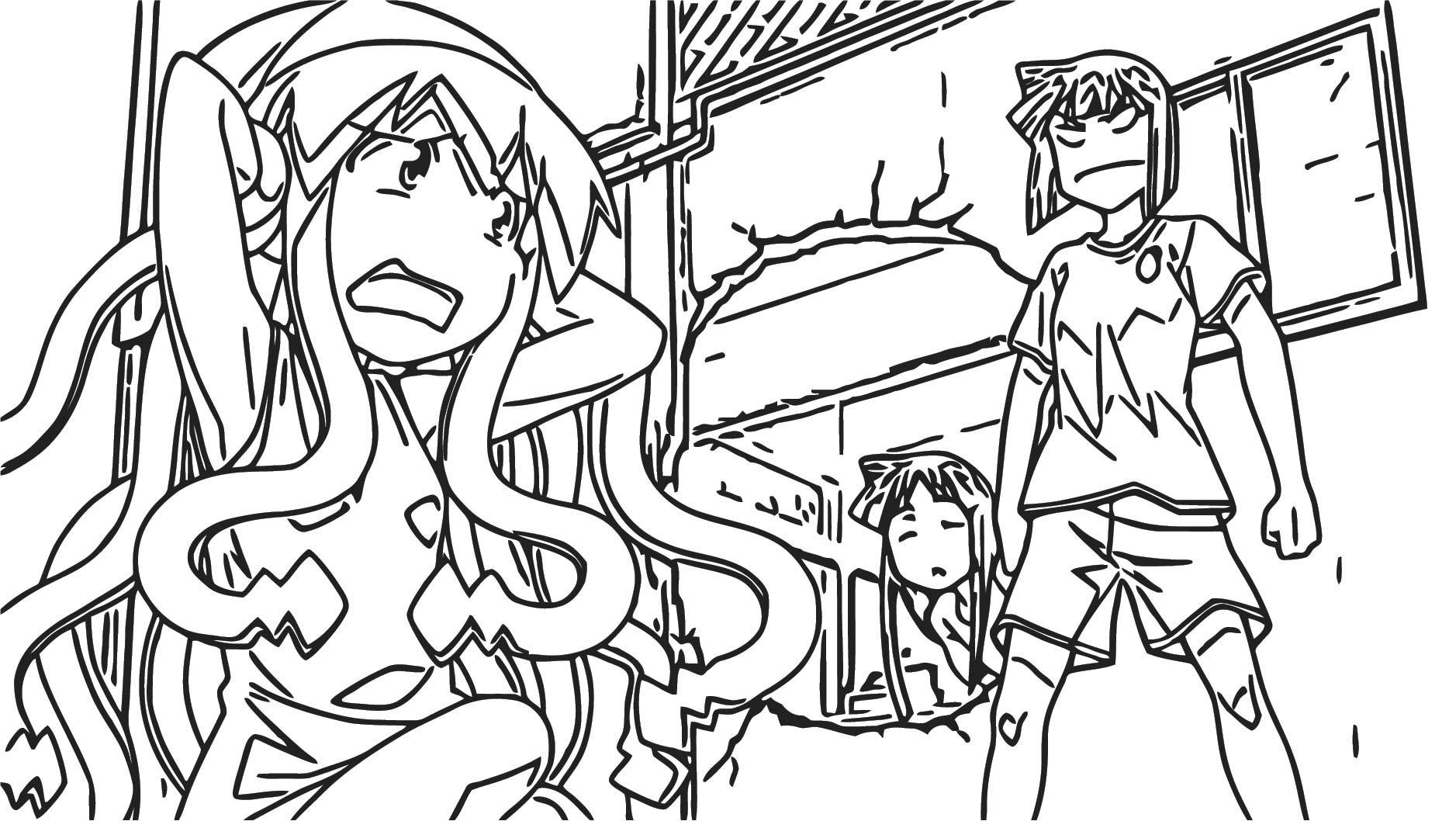 Squid Girl Coloring Page 299