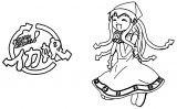 Squid Girl Coloring Page 301