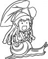 Squid Girl Coloring Page 306