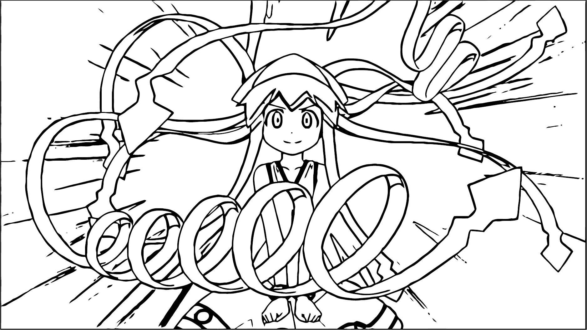 Squid Girl Coloring Page 322