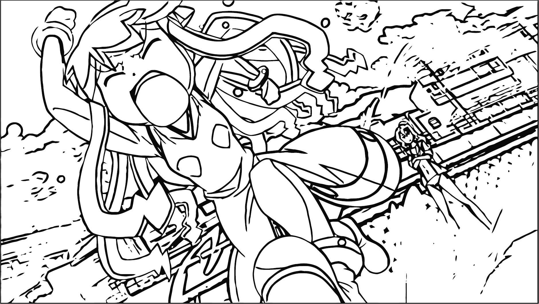 Squid Girl Coloring Page 324