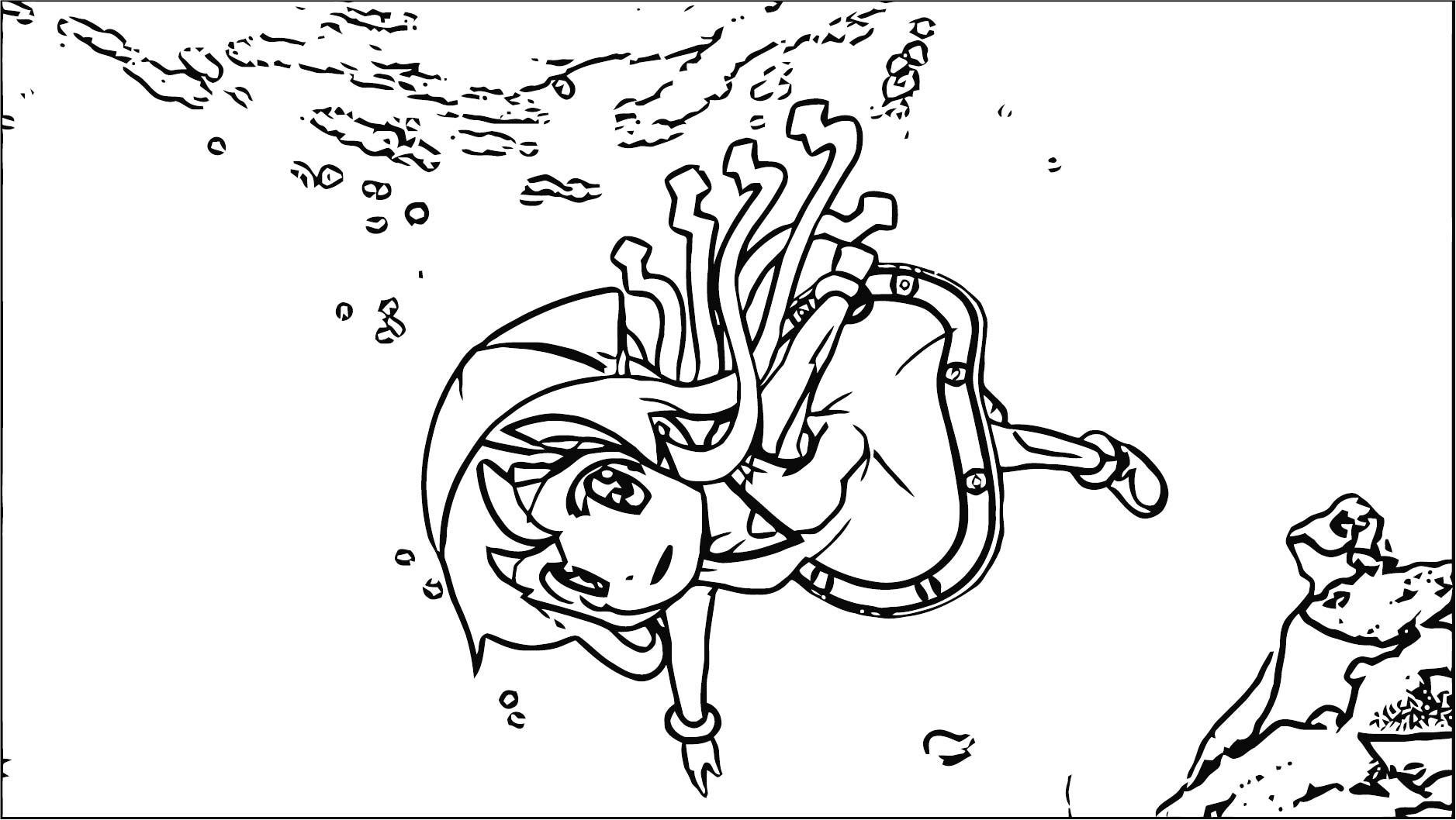 Squid Girl Coloring Page 325