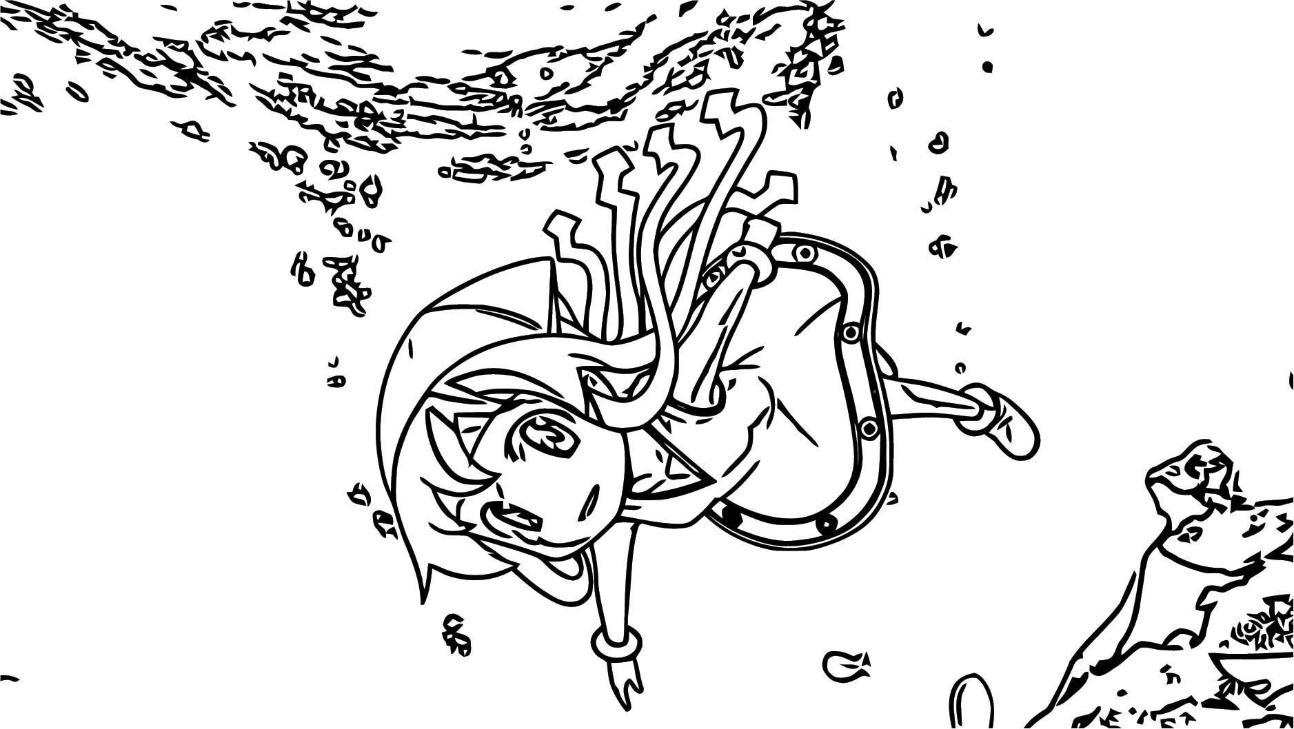 Squid Girl Coloring Page 326