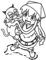 Squid Girl Coloring Page 344