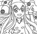 Squid Girl Coloring Page 348