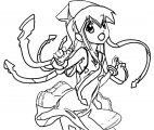 Squid Girl Coloring Page 353